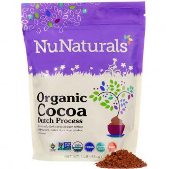 Gluten-free organic cocoa dutch process by NuNaturals