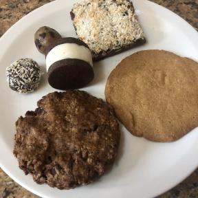 Gluten-free vegan desserts from Skinny Buddha