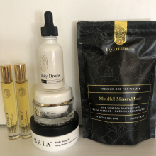 CBD products by Equilibria