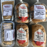 Gluten-free bagels and bread by Outside The Breadbox