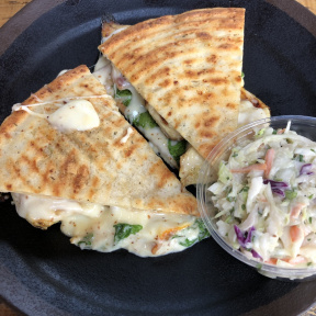 Gluten-free Muenster panini from Exit 4 Food Hall