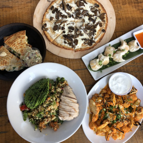 Gluten-free lunch from Exit 4 Food Hall in Mt. Kisco