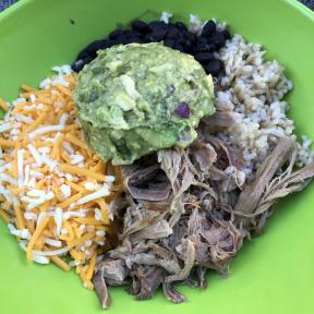 Gluten-free rancher's bowl from PopoJito