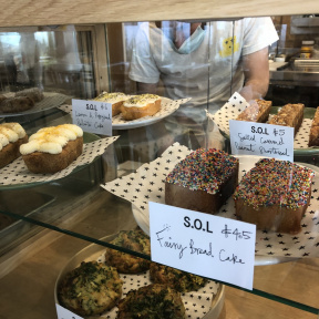 Gluten-free pastries from Strings of Life (S.O.L)