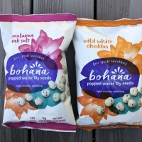 Gluten-free popped water lily seeds by Bohana