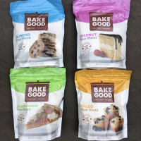 Gluten-free wholesome flour blends by BakeGood