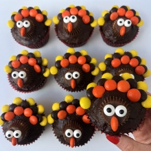 Gluten-free Turkey Cupcakes