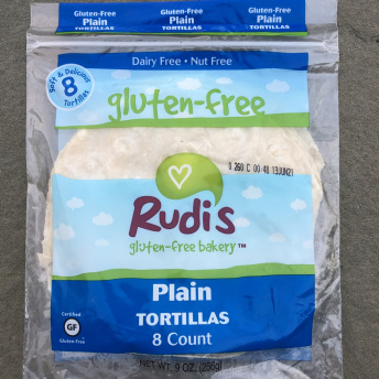 Gluten-free tortillas by Rudi's