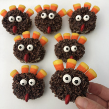 Gluten-free Chocolate Turkeys for Thanksgiving