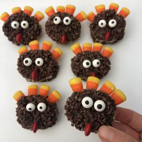 Gluten-free Chocolate Turkeys for Thanksgiving