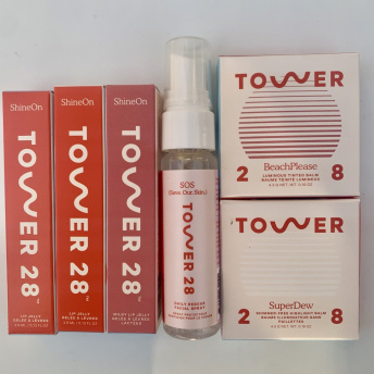 Gluten-free skincare and beauty products by Tower 28 Beauty