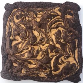 Gluten-free Peanut Butter Swirl Brownies