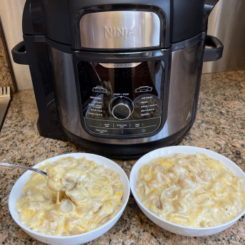 Making gluten-free Mac & Cheese with a Pressure Cooker, Ninja Kitchen