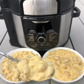 Making Pressure Cooker Mac & Cheese with Ninja Kitchen