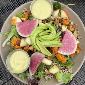 Gluten-free salad from Picazzos