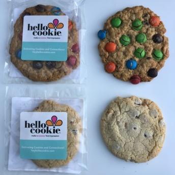 Gluten-free vegan cookies from Hello Cookie