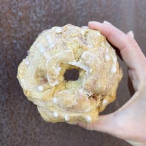 Gluten-free dairy-free cinna swirl muffin from KarmaFarm