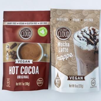 Gluten-free vegan hot cocoa by Coconut Cloud