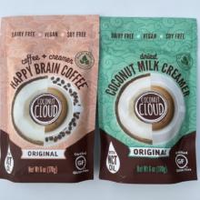 Gluten-free coffee creamer by Coconut Cloud