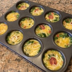 Making gluten-free Egg Muffins or Egg Bites