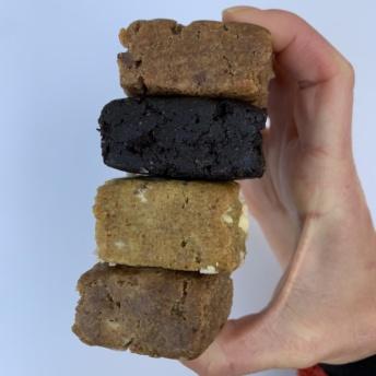 Gluten-free plant-based bars by BelliWelli