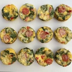 Gluten-free dairy-free Egg Muffins