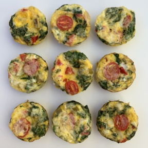Gluten-free Egg Muffins for breakfast