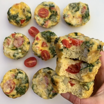 Ready to eat gluten-free Egg Muffins