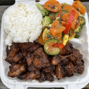 Gluten-free chicken from Hawaiian Bros