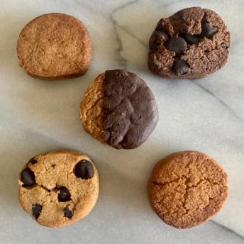 Gluten-free sugar-free cookies by Smart Cookie Baker
