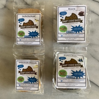 Gluten-free baked goods by Smart Cookie Baker