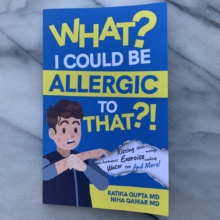 What? I Could Be Allergic to That?! Book by Ratika Gupta and Niha Qamar