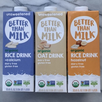 Gluten-free plant-based milk by Better Than Milk