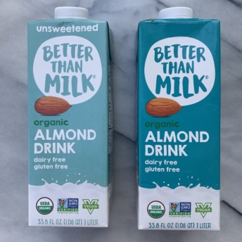 Gluten-free almond milk by Better Than Milk