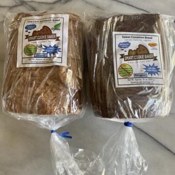 Gluten-free sugar-free bread by Smart Cookie Baker