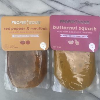 Gluten-free soups by Proper Good