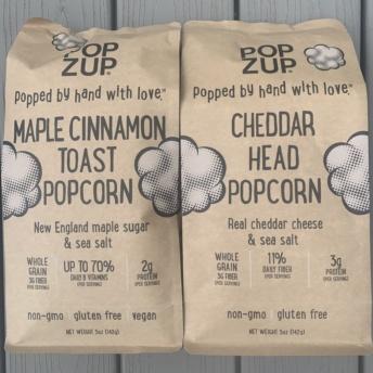 Gluten-free maple cinnamon toast popcorn by Popzup