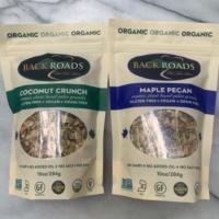 Gluten-free granola by Backroads Granola