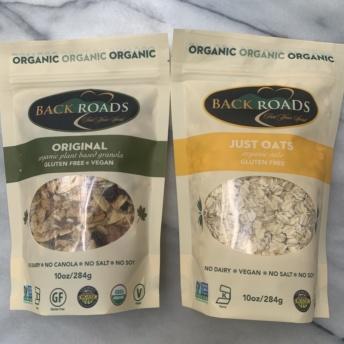 Gluten-free oats and granola by Backroads Granola