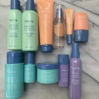 Gluten-free skincare products by Nuria