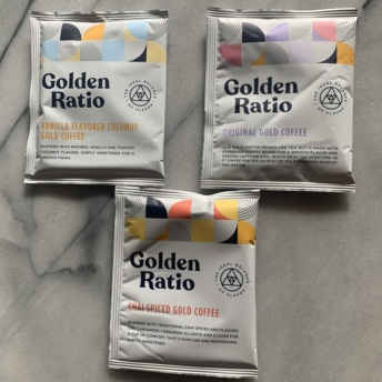 Gluten-free gold coffee by Golden Ratio