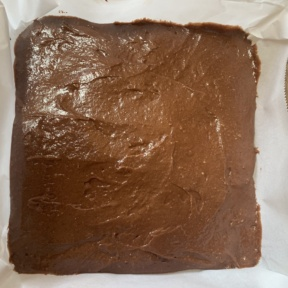 Brownie layer for Cheesecake Marbled Brownies