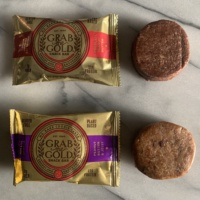 Gluten-free plant-based bars by Grab The Gold