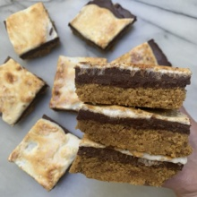 Gluten-free S'mores Layer Bars