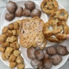 Gluten-free funnel cake, beignets, and soft pretzels by Mom's Place