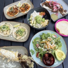 Gluten-free lunch from Rosa Mexicano