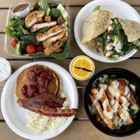 Gluten-free lunch from Twist Bakery Cafe