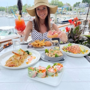 Jackie at The Boathouse in Maine