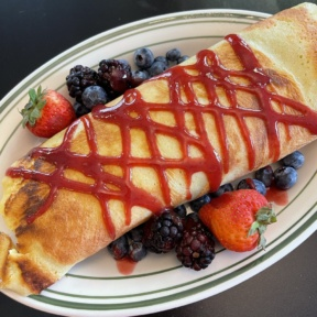 Gluten-free crepe from For The Love Of Food & Drink