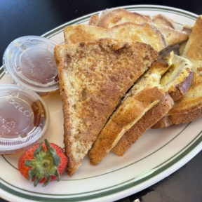 Gluten-free French toast from For The Love Of Food & Drink